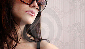 Sexy Woman In Sunglasses Stock Photos - Image: 19296503