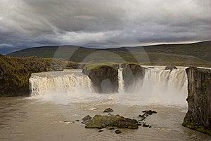Godafoss Waterfalls Royalty Free Stock Images - Image: 19296789