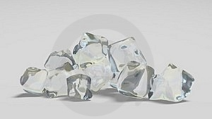 Ice Cubes Royalty Free Stock Photos - Image: 19297078