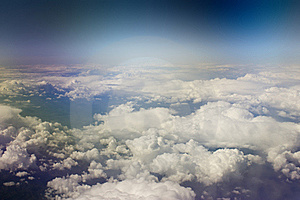 Kind On Clouds Stock Images - Image: 19297344