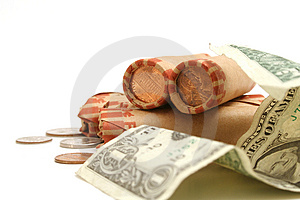 Spare Change Royalty Free Stock Image - Image: 1930136