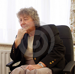 Lost in thought Stock Photography