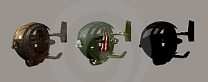 Futuristic Chopper Stock Photography - Image: 1937722