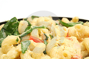 Pasta Salad With Copyspace Stock Photography - Image: 1938282