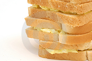 Egg Salad Stack Copyspace Left Stock Photography - Image: 1938292