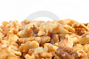 Walnuts With Copyspace On Top Stock Images - Image: 1938454