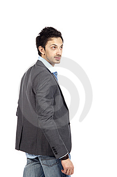 Casual Businessman Posing Stock Photography - Image: 19301332