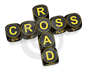 Crossroad Royalty Free Stock Photos - Image: 19302528