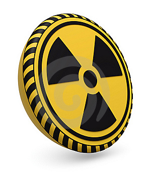 Nuclear Target Royalty Free Stock Image - Image: 19302536