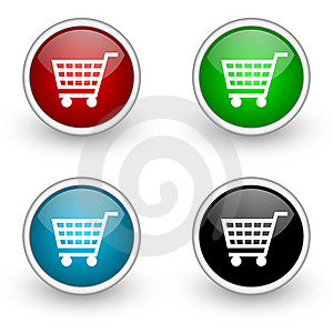 Shop Icons Stock Photography - Image: 19302572