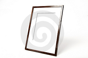 Wooden Picture Frame Clipping Paths Stock Photography - Image: 19304442