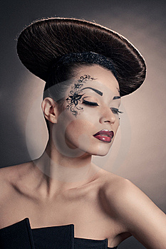 Disc Coiffure Stock Images - Image: 19306704