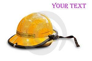 Firefighting Helmet Stock Photo - Image: 19310180