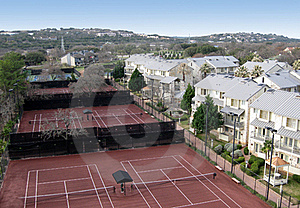 Resort Tennis Courts Royalty Free Stock Photos - Image: 19311848