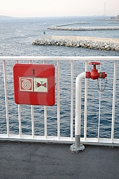 Fire Hydrant In The Ship Stock Images - Image: 19314544