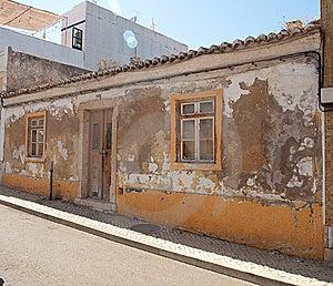 Algarvian House Dilapidated Stock Photo - Image: 19314820