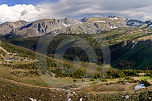 Rocky Mountains Royalty Free Stock Images - Image: 19316969