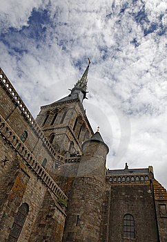 Mount Saint Michel Monastery-detail Royalty Free Stock Photo - Image: 19317105