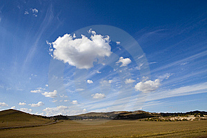 Meadow Meets Sky Stock Photos - Image: 19317673