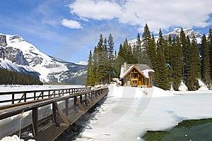 Emerald Lake, Canadian Rockies Royalty Free Stock Photography - Image: 19318007