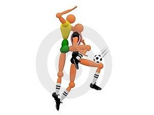 Soccer_v5 Royalty Free Stock Photos - Image: 19319478