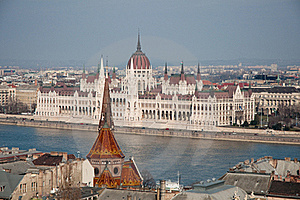 Parliament House In Budapest, Hungary Royalty Free Stock Photos - Image: 19320018