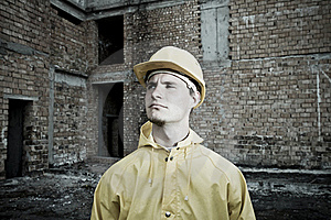Portrait Of Confident Construction Worker Royalty Free Stock Photos - Image: 19320948