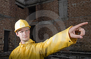 Portrait Of Confident Construction Worker Royalty Free Stock Photos - Image: 19320958