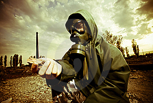 Man In Gas Mask Royalty Free Stock Images - Image: 19320999