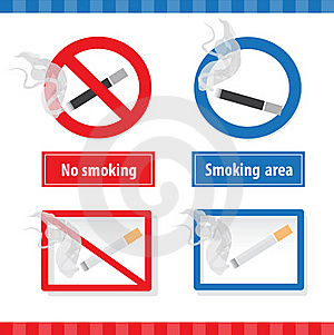 Smoking Signs Royalty Free Stock Photos - Image: 19321668