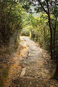 Mountain Path Royalty Free Stock Photos - Image: 19323258