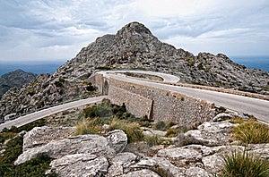 Hairpin Bend Curve Sa Calobra Majorca Royalty Free Stock Photo - Image: 19325225