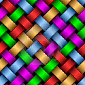 Multicolored Ribbons. Royalty Free Stock Photos - Image: 19325478