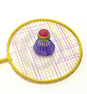 Badminton Racket And Shuttlecock Stock Images - Image: 19328064