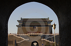 The Zhengyang Gate Royalty Free Stock Photo - Image: 19328855