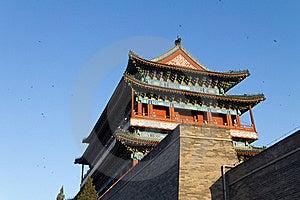 The Zhengyang Gate Stock Image - Image: 19328911