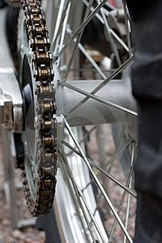 Dirtbike Cogwheel Royalty Free Stock Photography - Image: 19331097