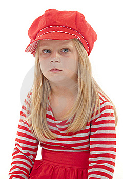 Unhappy Little Girl Stock Photography - Image: 19331792