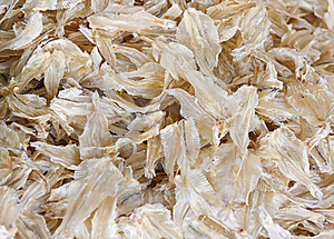 Anchovy Asian Food Ingredient Dried Fish Stock Images - Image: 19331914