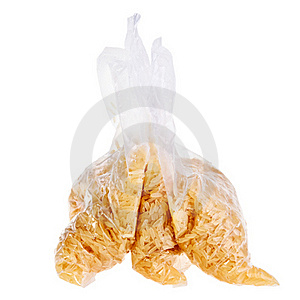 Rice Ready To Boil In Plastic Bags. Stock Photo - Image: 19333430