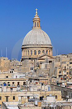 Church Domed Skyline Royalty Free Stock Photo - Image: 19334765