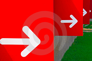 Turn Right Royalty Free Stock Photos - Image: 19337088
