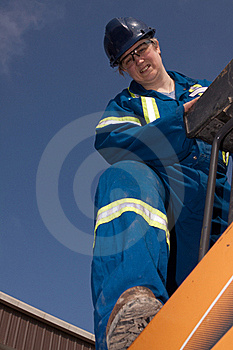 Woman Construction Worker Stock Photography - Image: 19337222