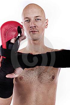 Image Of Confient Fighter Royalty Free Stock Image - Image: 19338336