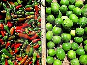 Chilli And Lemons Stock Photos - Image: 19341603