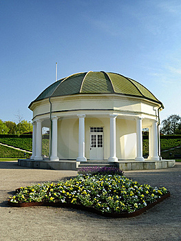 Old Architecture In Swedish Park Stock Image - Image: 19341961