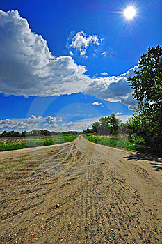 Country Road Stock Images - Image: 19343174