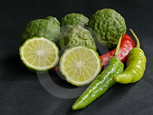 Citrus And Chili Stock Image - Image: 19344801
