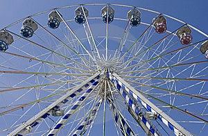 Under Ferris Wheel Stock Photography - Image: 19346402
