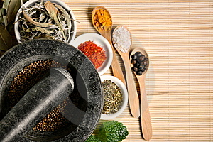 Spices Royalty Free Stock Photo - Image: 19349235